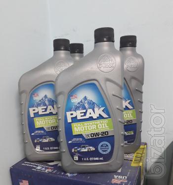 Peak Full Synthetic Motor Oil 0W-20