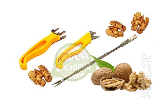 Комплект для чистки грецкого ореха 135 грн