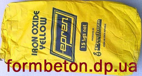 Краситель для тротуарной плитки Жёлтый Y-710 Чехия