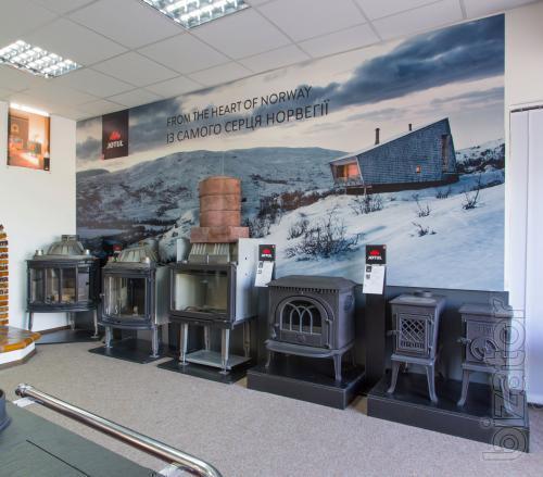 Продажа и установка дровяных каминов и печей под ключ в Киеве и области