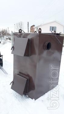 Пиролизный котел воздушного отопления мощностью 50 кВт от производителя