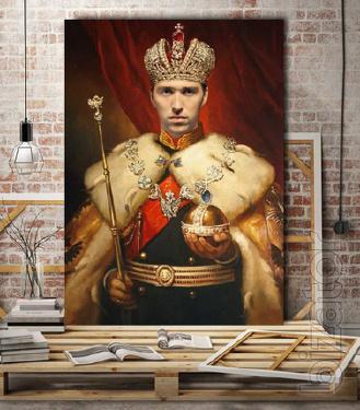 Портрет на холсте по фотографии в Минске — быстрая печать фото на холсте
