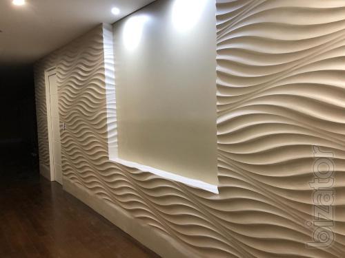3d панели для стен. Монтаж и покраска. Отделочные Материалы.