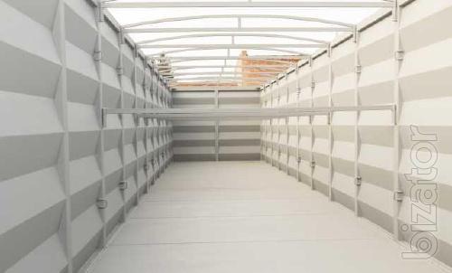 Виготовлення та продаж кузовів під фітинг, половинок контейнерів, м.