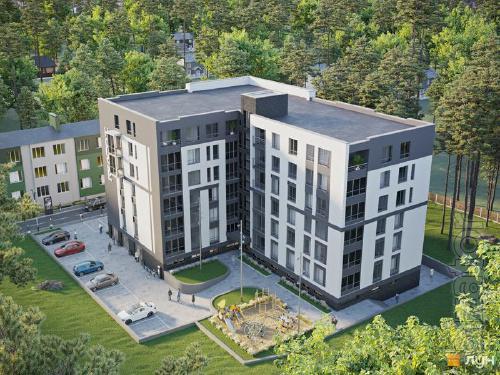 Квартира с документами в комплексе от Киева 7 км.