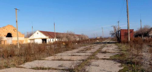 Крупный имущественный комплекс зданий вблизи Одессы