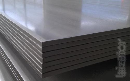 Листы титан ВТ1-0 плита 20 мм