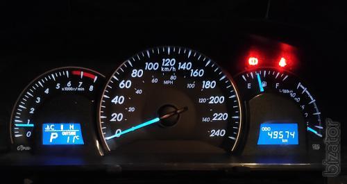Переводим мили на километры на всех Тойота и Лексус.