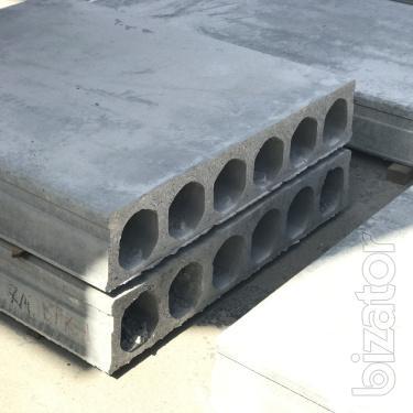 Багатопустотні плити перекриття та інші ЗБВ в асортименті!
