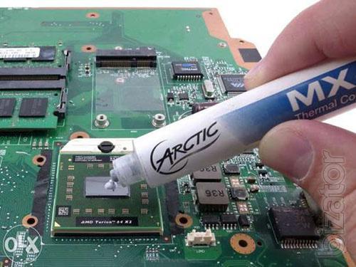 Чистка ноутбуков Киев, ремонт ноутбуков