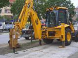 Аренда экскаватора-погрузчика jcb 3cx услуги спецтехники трактор