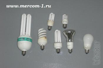Утилизация люминесцентных, энергосберегающих и других ртутьсодержащих ламп, приборов и отходов.