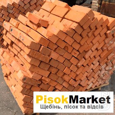 Рядова цегла Луцьк замовити недорого в PisokMarket