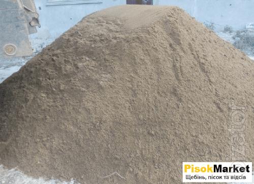 Пісок Луцьк замовити недорого в PisokMarket