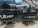 Магнитные наклейки Uber Яндекс такси Сити Мобил