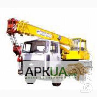 Компания ООО «Монолит 2011» предоставляет в аренду автомобильный кран КС-3577-3 на базе, Васильевка