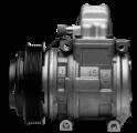 Компрессор кондиционера  Claas Tucano, Mega, Medion, Jaguar 10PA15C 120 mm. (796999.1)