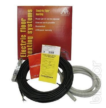 Бесплатный монтаж! Теплый пол нагревательный кабель мат пленка антиобледенение обогрев тротуаров крыш