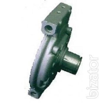 Передняя крышка компрессора Denso 10PA15C/17C c креплением (Сквозные уши)