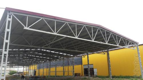 Побудувати ангар у Борисполі