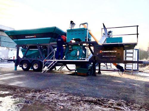 Constmach Mobicom 30 -  30m3/h Mobile Concrete Plant