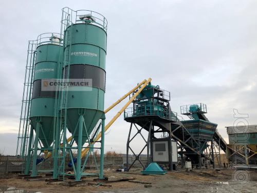 Constmach 100 Tonnes Cement Silo