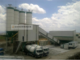 Зимний тип 120 м3 / ч бетонный завод