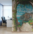 фреска текстуры ручной работы