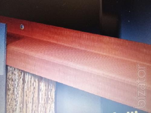 Z- стеклопластиковый профиль.Тепловые решения для облицовки