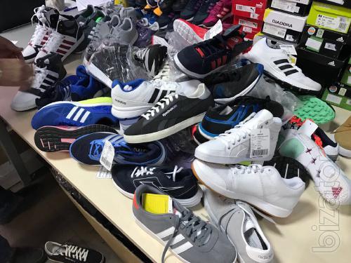 Спортивная обувь оптом. Сток. Из Европы. На вес. Не дорого. По 16 €/кг.
