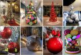 Новогодние декорации, изготовление арт-елей и создание рождественских арт-объектов
