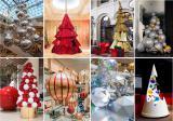 Новогодние декорации для торговых центров от производителей.