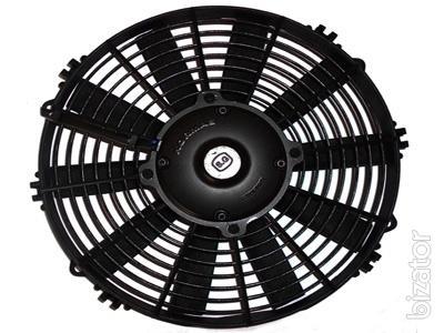 Вентилятор авто кондиционера конденсатора 10 дюймов 12v (Kormas) (1220m/h) толкающий