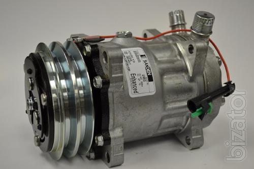 Муфта компрессора кондиционера Sanden SD5H14 2А, 24V D=132mm под. 40х62х24 (Взборе)