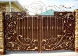 Изготовление металлических распашных ворот. Изготовление и продажа металлических конструкций.