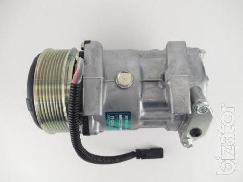 Компрессор JCB 7H15 8203 PV8 12В 119 мм.