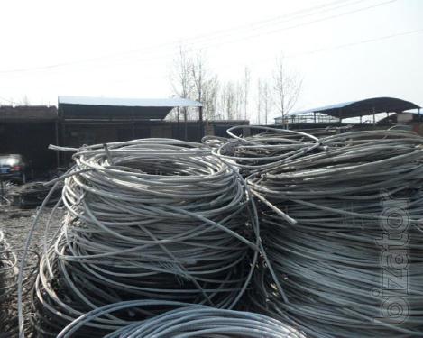 Aluminum wire scrap