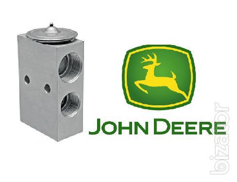 Расширительный клапан трв кондиционера резьба (14,5 и 20,8мм) (17,7 и 17.7 мм) John Deere