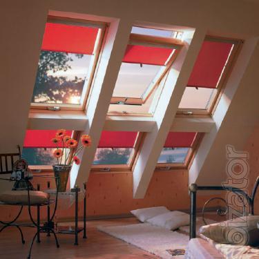 Мансардное окно Fakro 66 х 118 с окладом