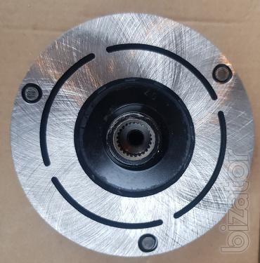 Муфта компрессора Denso 10PA15C PV8 124.5mm 12V (Шкив+магнит+прижимная)