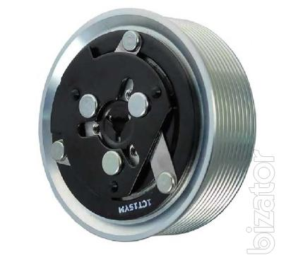 Муфта компрессора кондиционера Sanden SD7H15 10PV, 12V D 124 мм. подшип. 35х55х20 (Взборе)
