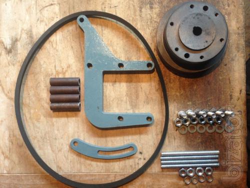 Кронштейн крепления компрессора Мтз двигатель Д243 и Д245 Толщина 12 мм. (Без шкива)