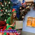 Лазертаг з новорічними ельфами