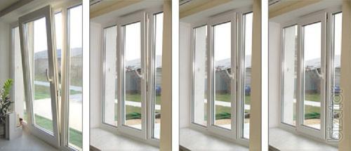 Металлопластиковые-Алюминиевые окна и двери от производителя
