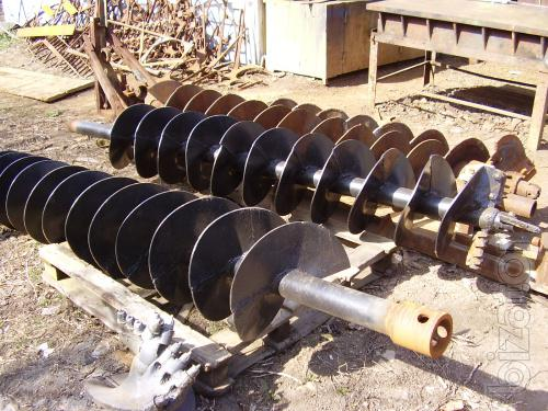 Продам Буровой инструмент для ямобуров