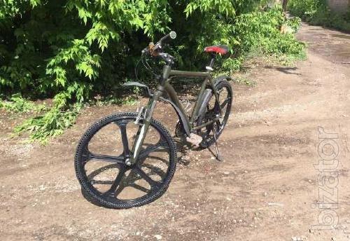 Шина велосипеда бескамерная 26х1. 5 ключ 21мм
