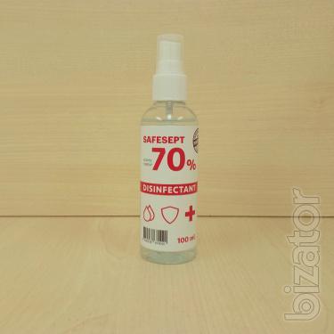 Купить антисептик для рук, антисептик для обработки рук Safesept