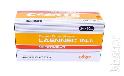 Lаеnnес и Melsmon (Мелсмон) – плацентарные препараты Японского производства