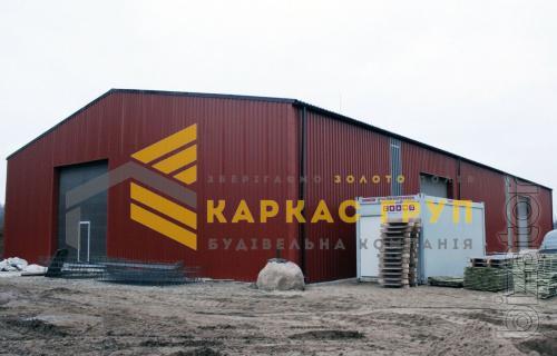 Строительство ангаров, складов, навесов, зернохранилищ