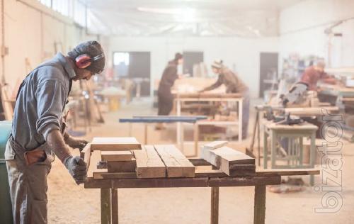 Требуются сотрудники на деревообрабатывающее предприятие